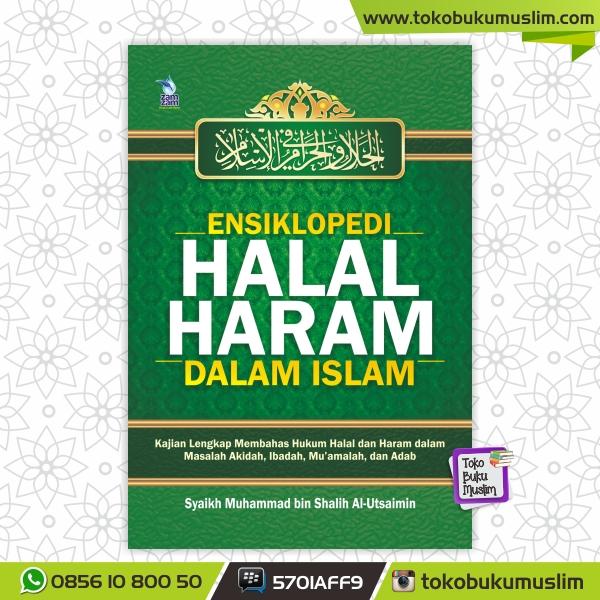 Buku Ensiklopedi Halal Haram dalam Islam