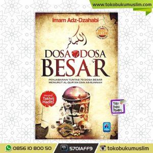 Buku Dosa Dosa Besar Imam Dzahabi Pustaka Arafah