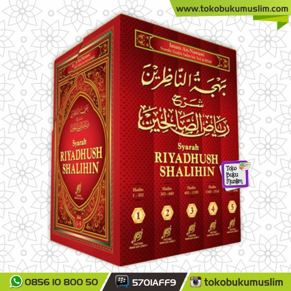 Buku Syarah Riyadhush Shalihin Syaikh Salim Al Hilali