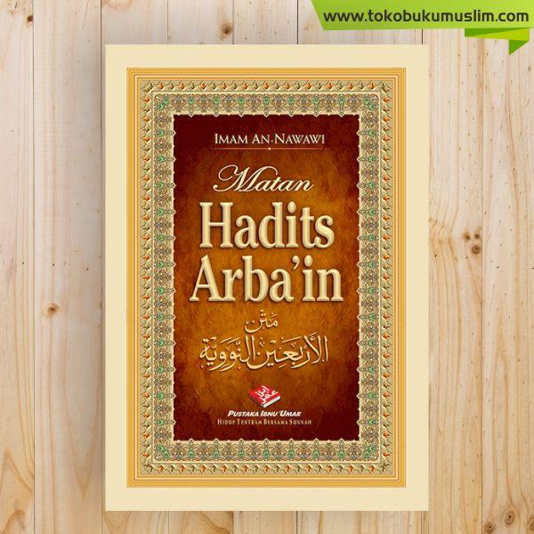 Buku Saku Matan Hadits Arbain Nawawi Pustaka Ibnu Umar